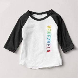 T-shirt Pour Bébé Le Venezuela