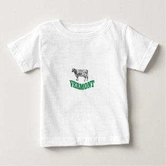 T-shirt Pour Bébé le Vermont vert