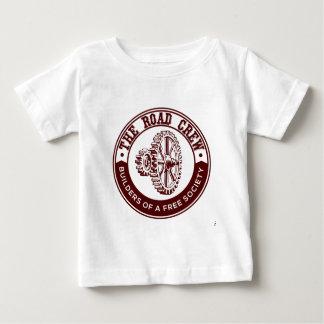 T-shirt Pour Bébé L'équipage de route
