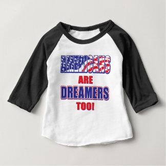 T-shirt Pour Bébé Les Américains sont des rêveurs aussi !