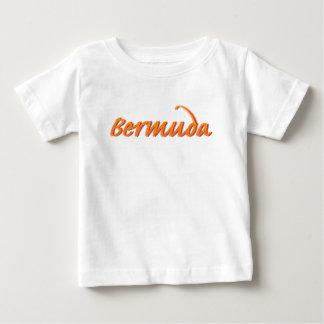 T-shirt Pour Bébé Les Bermudes dans l'orange