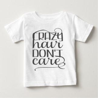 T-shirt Pour Bébé Les cheveux fous ne s'inquiètent pas