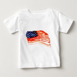 T-shirt Pour Bébé Les Etats-Unis du lard
