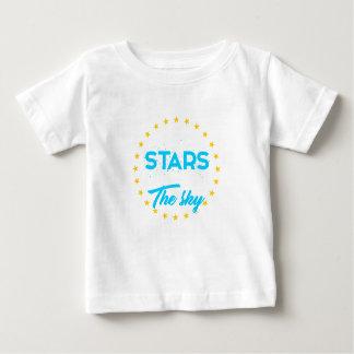 T-shirt Pour Bébé Les étoiles laissées allument le ciel