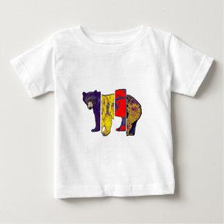 T-shirt Pour Bébé Les fragments de la nature