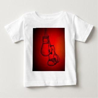 T-shirt Pour Bébé Les gants de boxe combattent le cadeau de fan ou