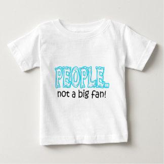 T-shirt Pour Bébé Les gens pas une grande fan