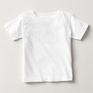 T-shirt Pour Bébé Les maths le font cadeau drôle