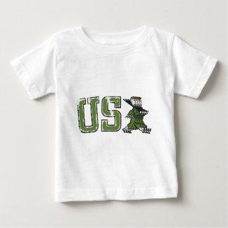 T-shirt Pour Bébé Les militaires des Etats-Unis défilent