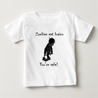 T-shirt Pour Bébé Les zombis mangent des cerveaux - vous êtes sûrs