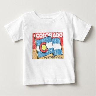 T-shirt Pour Bébé L'état argenté