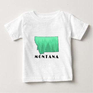 T-shirt Pour Bébé L'état de trésor