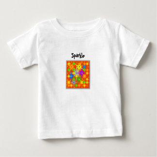 T-shirt Pour Bébé L'étincelle de Noël badine la chemise