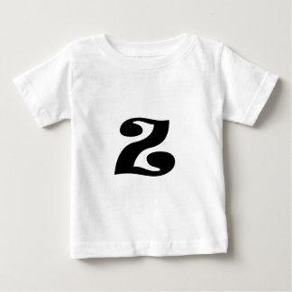 T-shirt Pour Bébé Lettre Z_large