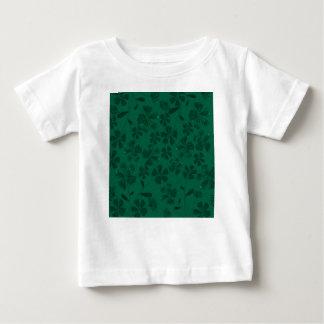 T-shirt Pour Bébé lflowers verts