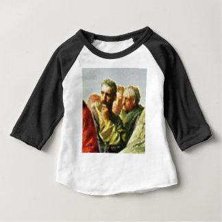 T-shirt Pour Bébé L'homme frotte son menton