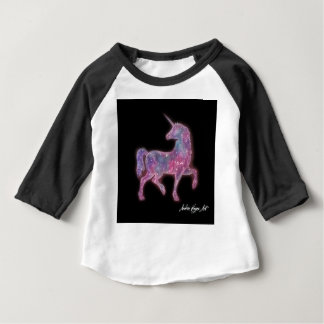 T-shirt Pour Bébé Licorne