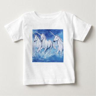 T-shirt Pour Bébé licornes