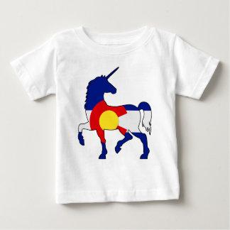 T-shirt Pour Bébé Licornes et Colorado !