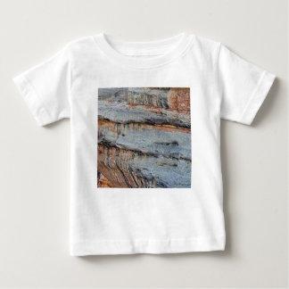 T-shirt Pour Bébé lignes de texture de roche