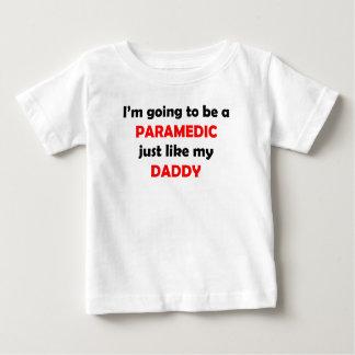 T-shirt Pour Bébé L'infirmier aiment mon papa