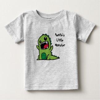 T-shirt Pour Bébé Little Monster de tante