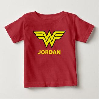 T-shirt Pour Bébé Logo classique de la femme de merveille |