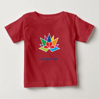 T-shirt Pour Bébé Logo de fonctionnaire du Canada 150 - multicolore