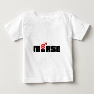 T-shirt Pour Bébé Logo de Murse sur le blanc