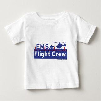 T-shirt Pour Bébé Logo de remplaçant d'hélicoptère d'équipage des