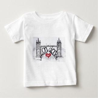 T-shirt Pour Bébé Londres avec amour