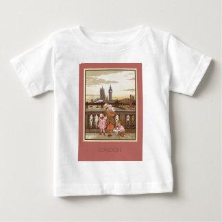 T-shirt Pour Bébé Londres vintage