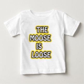 T-shirt Pour Bébé L'orignal est lâche
