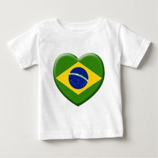 T-shirt Pour Bébé Love Brésil Samba
