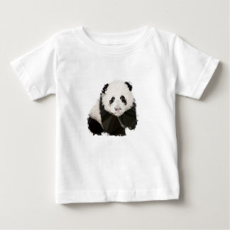 T-shirt Pour Bébé Low Poly Panda