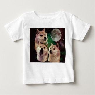 T-shirt Pour Bébé Lune de doge - l'espace de doge - chien - doge -