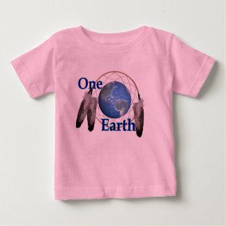 T-shirt Pour Bébé L'une terre