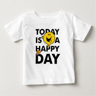 T-shirt Pour Bébé M. Happy | est aujourd'hui un jour heureux