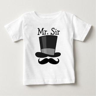 T-shirt Pour Bébé M. monsieur