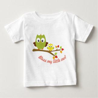 T-shirt Pour Bébé Ma collection de petit hibou