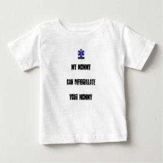 T-shirt Pour Bébé Ma maman peut Defibrillate votre maman