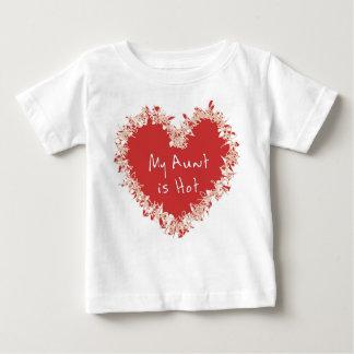 T-shirt Pour Bébé Ma tante est chaude