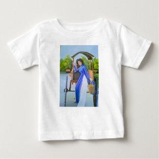 T-shirt Pour Bébé Madame dans le bleu