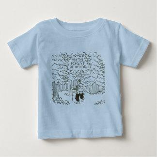 """T-shirt Pour Bébé """"Mai la forêt soit avec vous ! """""""