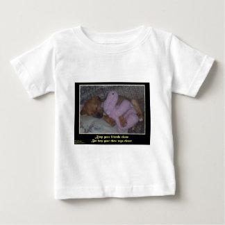 T-shirt Pour Bébé Maintenez la fin de support étroite