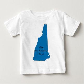T-shirt Pour Bébé Maintenez le New Hampshire bleu ! Fierté