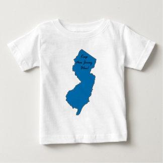 T-shirt Pour Bébé Maintenez le New Jersey bleu ! Fierté Democratic !