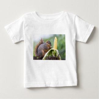 T-shirt Pour Bébé Maïs d'écureuil