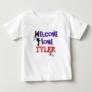 T-shirt Pour Bébé Maison bienvenue