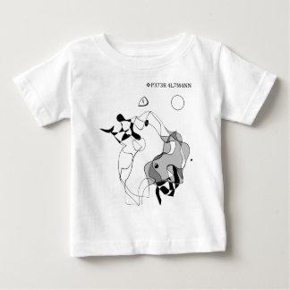 T-shirt Pour Bébé Maître et margarita